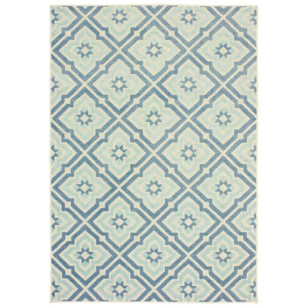 Oriental Weavers Barbados 1801h Blue Collection