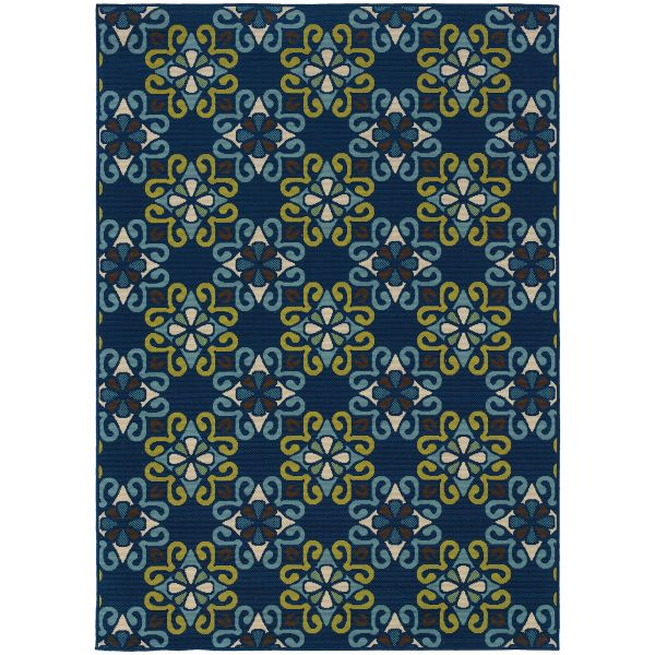 Oriental Weavers Caspian 3331l Blue Collection