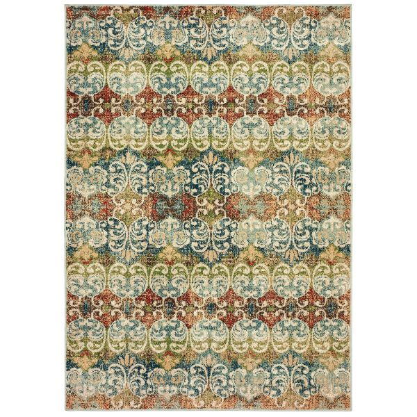 Oriental Weavers Dawson 7341b Multi Collection