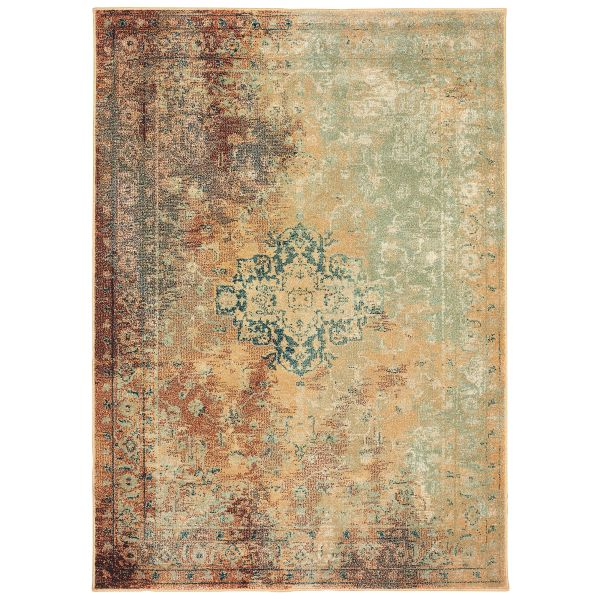 Oriental Weavers Dawson 8324a Rust Collection