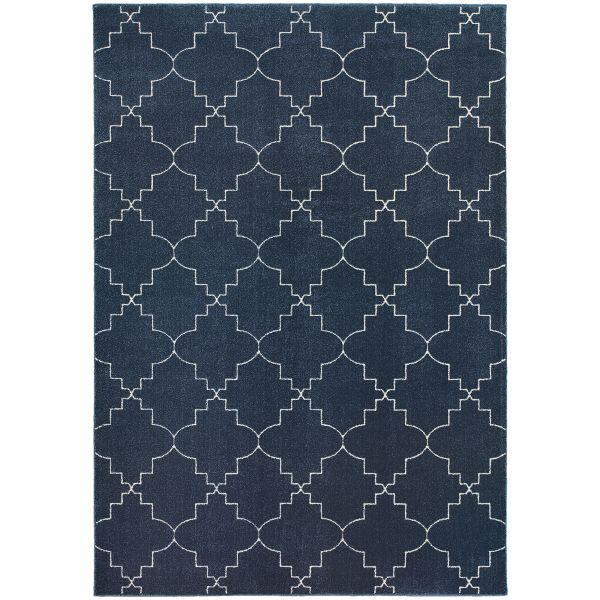 Oriental Weavers Ellerson 5994b Navy Collection