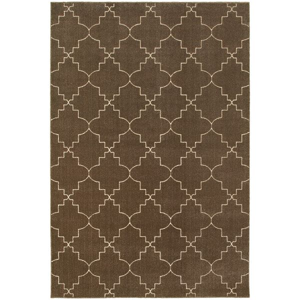 Oriental Weavers Ellerson 5994n Brown Collection