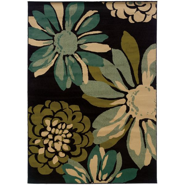 Oriental Weavers Emerson 2819a Teal Collection