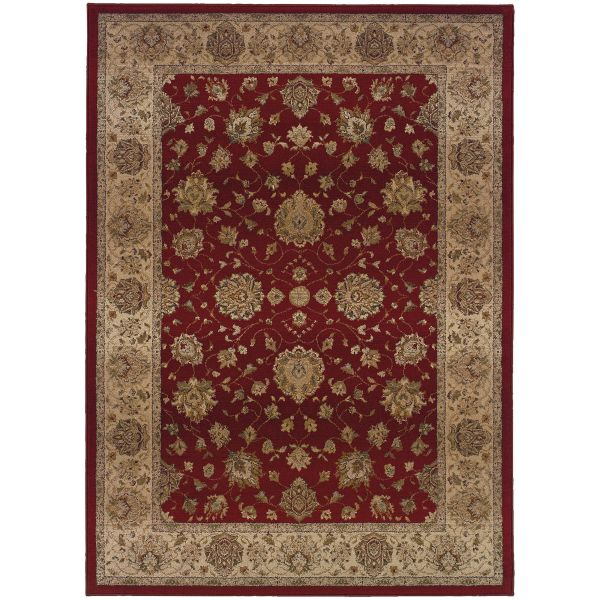 Oriental Weavers Genesis 35r Red Collection