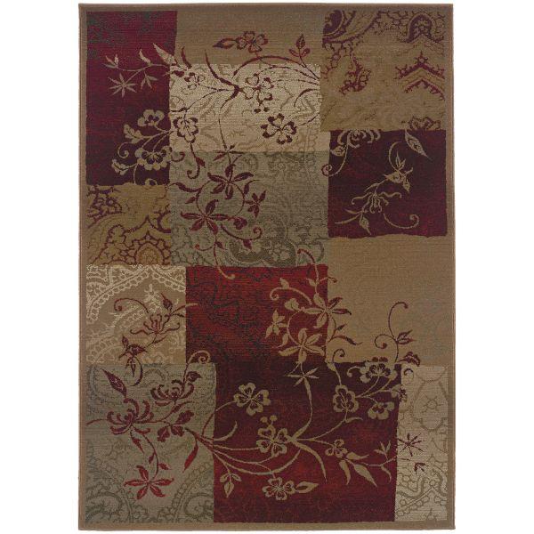 Oriental Weavers Genesis 80x Red Collection