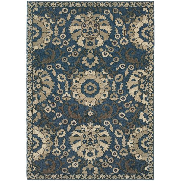 Oriental Weavers Highlands 6682a Midnight Collection