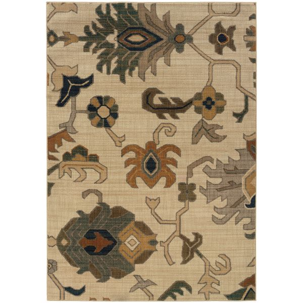 Oriental Weavers Kasbah 3936f Ivory Collection