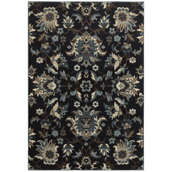 Oriental Weavers Linden 7811b Navy Collection