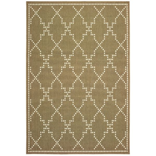 Oriental Weavers Marina 7765y Tan Collection