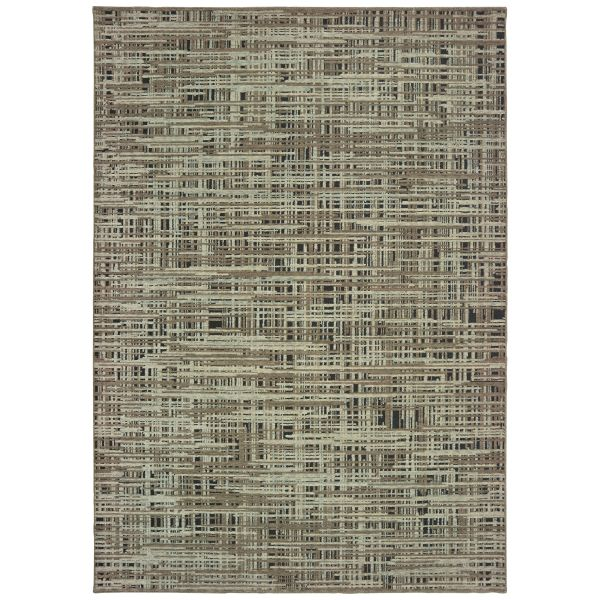 Oriental Weavers Montage 5503e Grey Collection