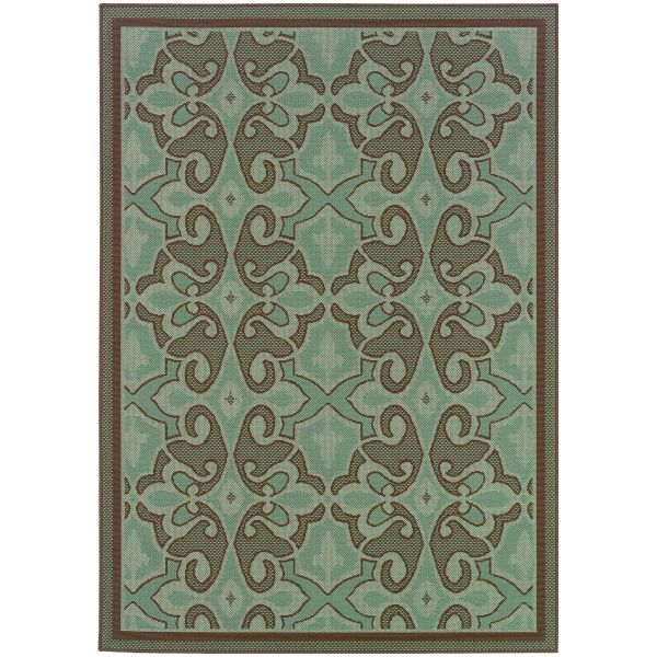 Oriental Weavers Montego 2335l Blue Collection