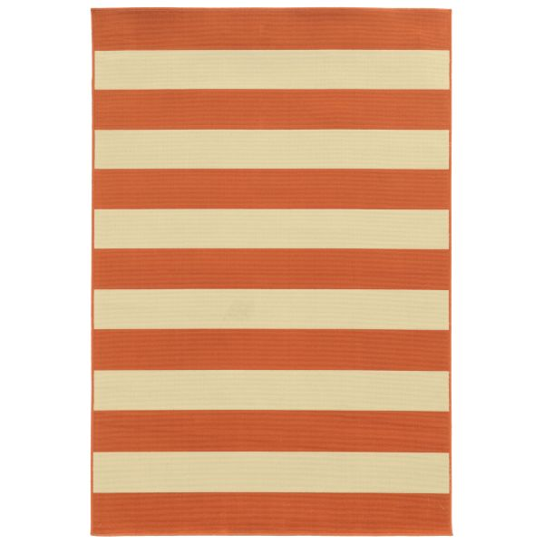 Oriental Weavers Riviera 4768b Orange Collection
