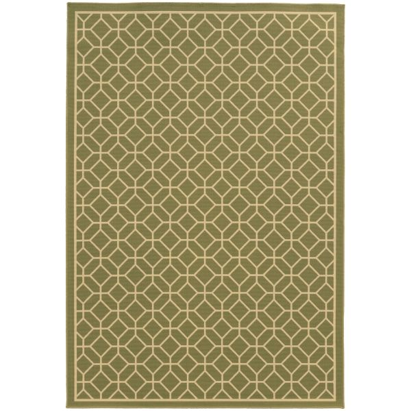 Oriental Weavers Riviera 4771b Green Collection