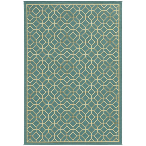 Oriental Weavers Riviera 4771e Blue Collection