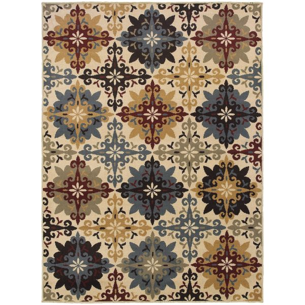 Oriental Weavers Stratton 6017a Ivory Collection