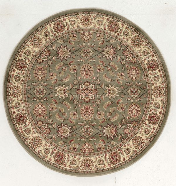 "Radici USA Como 1592 Sage 5'3"" x 5'3"" Round Collection"