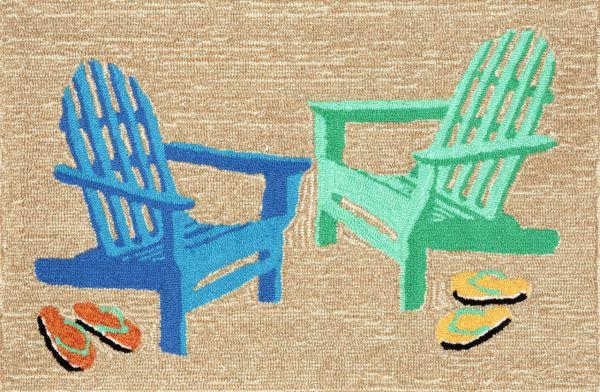 Liora Manne Frontporch Adirondack Seaside Collection