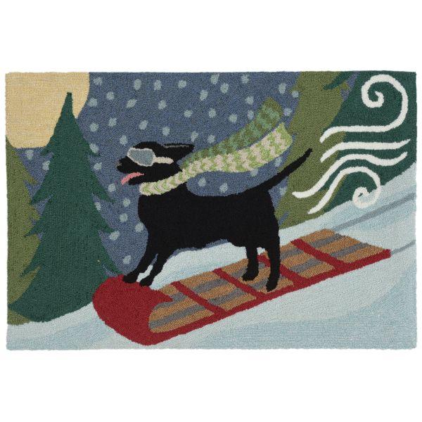 Liora Manne Frontporch Toboggan Dog Multi Collection