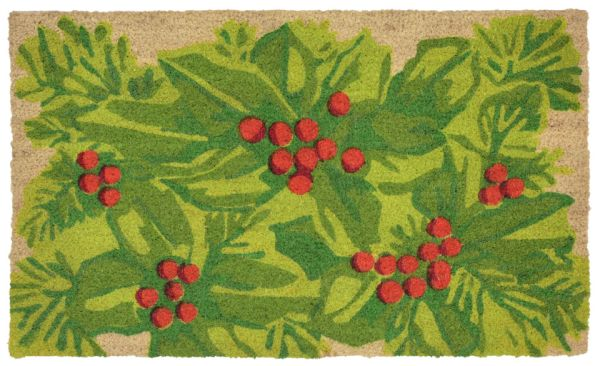 """Liora Manne Natura Hollyberries Natural 1'6"""" x 2'6"""" Collection"""