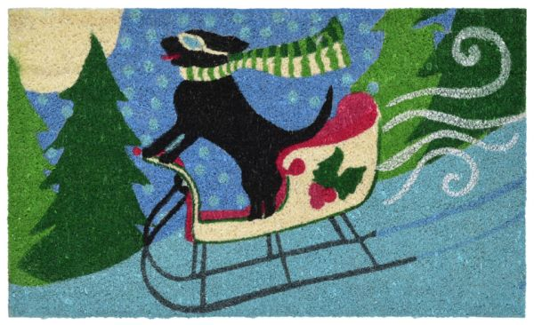 """Liora Manne Natura Sled Dog Multi 1'6"""" x 2'6"""" Collection"""