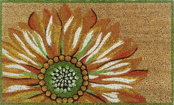 Liora Manne Natura Sunflower Yellow Collection