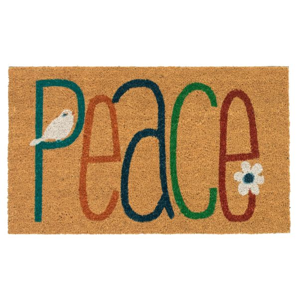 Liora Manne Natura Peace Natural Collection