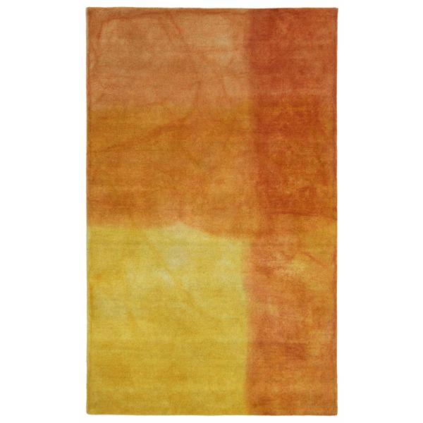 Liora Manne Piazza Watercolors Orange Collection