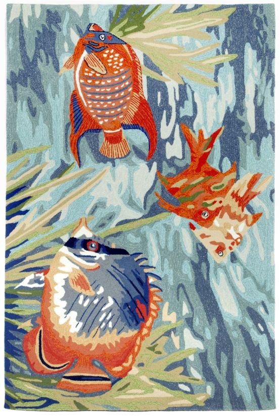 Liora Manne Ravella Tropical Fish Ocean Collection