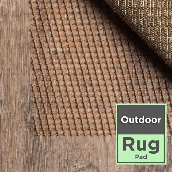 Outdoor Area Rug Pad Pre-packaged Collection