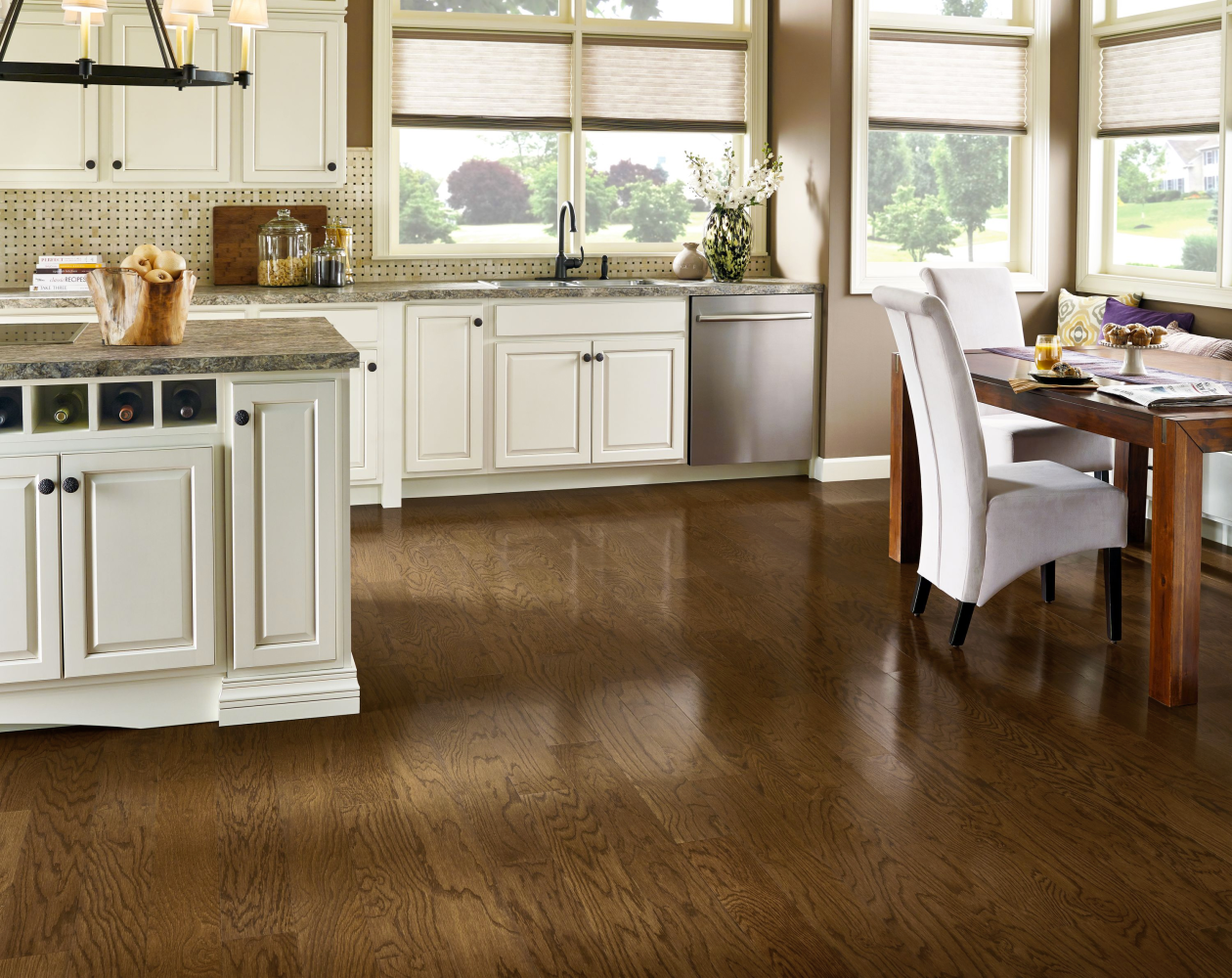 Armstrong Prime Harvest Oak Solid Red Oak Forest Brown APK5417LG