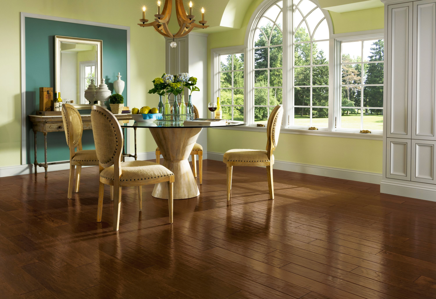 Armstrong American Scrape Hardwood Hickory Wilderness Brown EAS509
