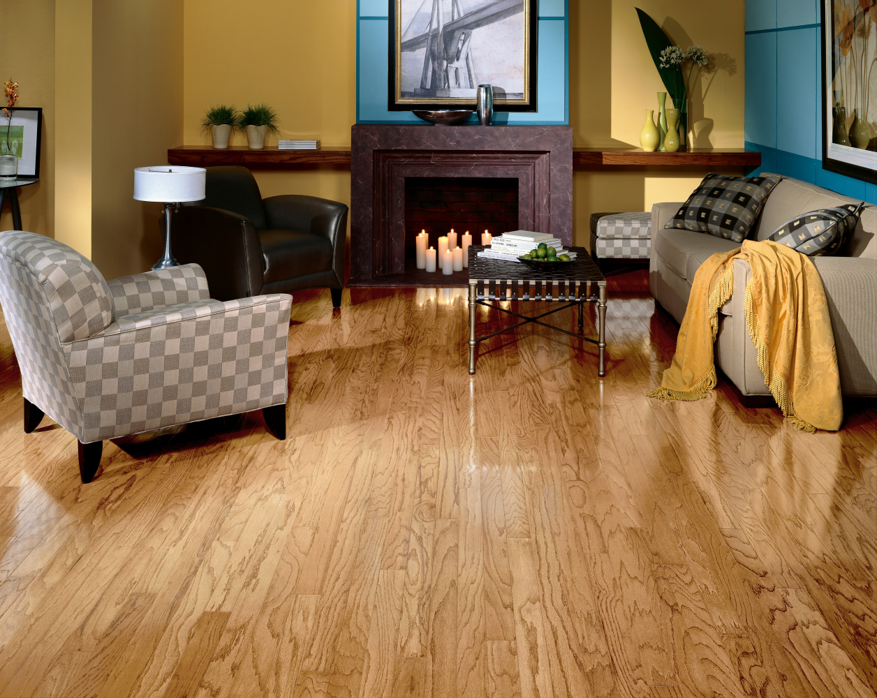 Armstrong Ascot Strip Red Oak Natural 5188N