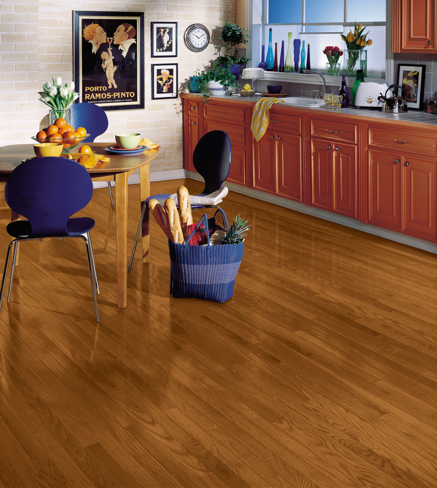 Armstrong Yorkshire Strip White Oak Auburn BV631AU