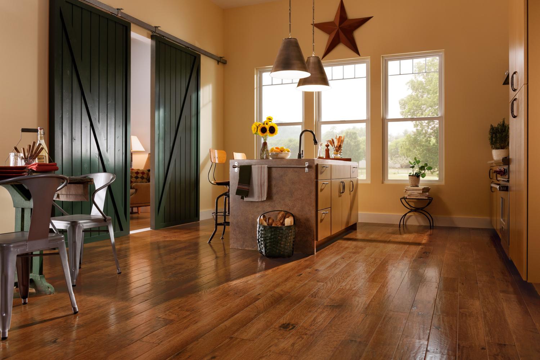 Armstrong American Scrape Hardwood Hickory Cajun Spice EAS503