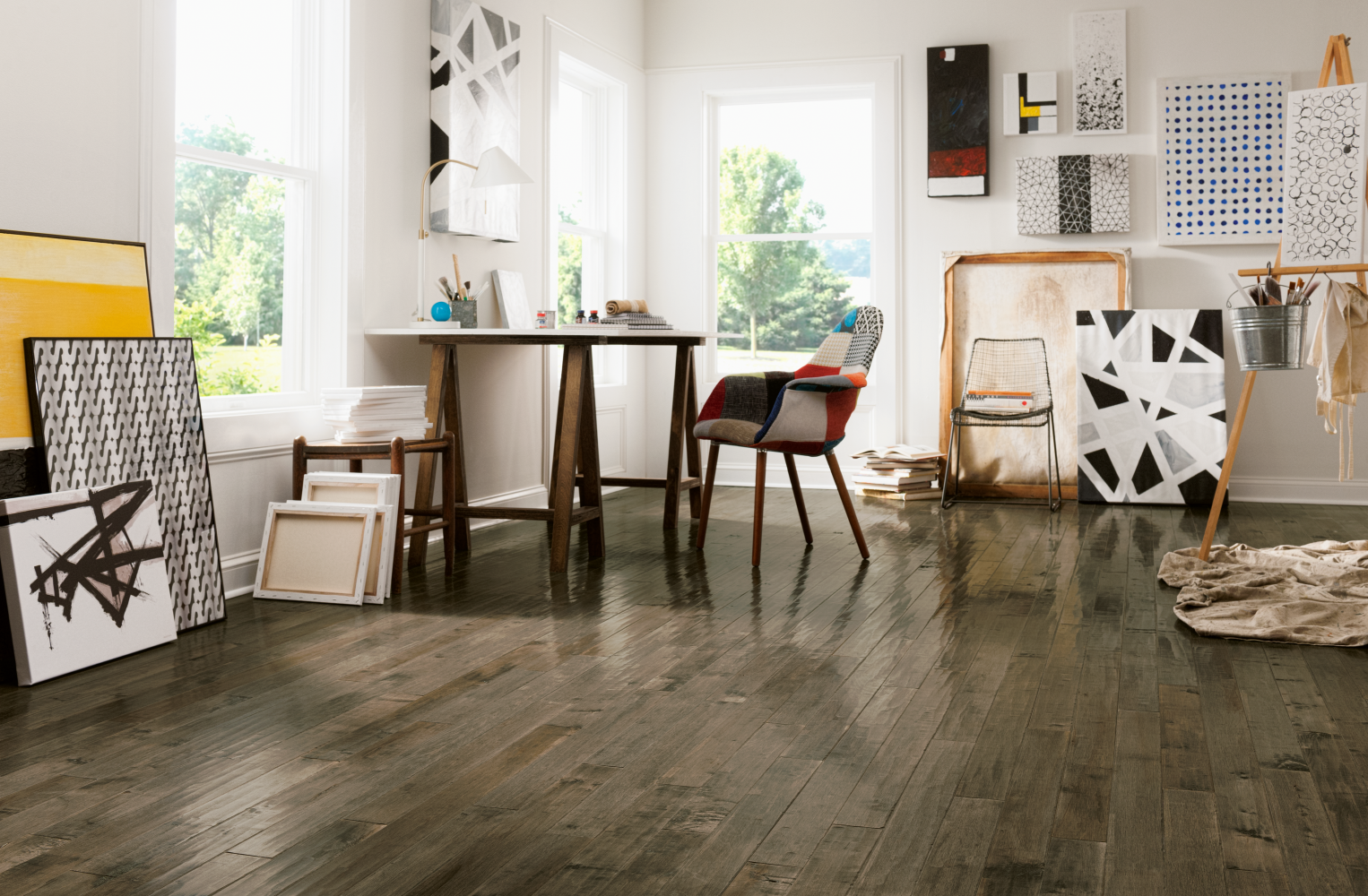 Armstrong American Scrape Hardwood Nantucket 5 in Nantucket SAS519