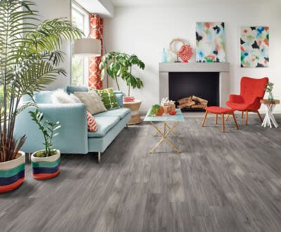 Armstrong Luxe Plank With Fastak Install Derry Oak Foggy Gray A6767741