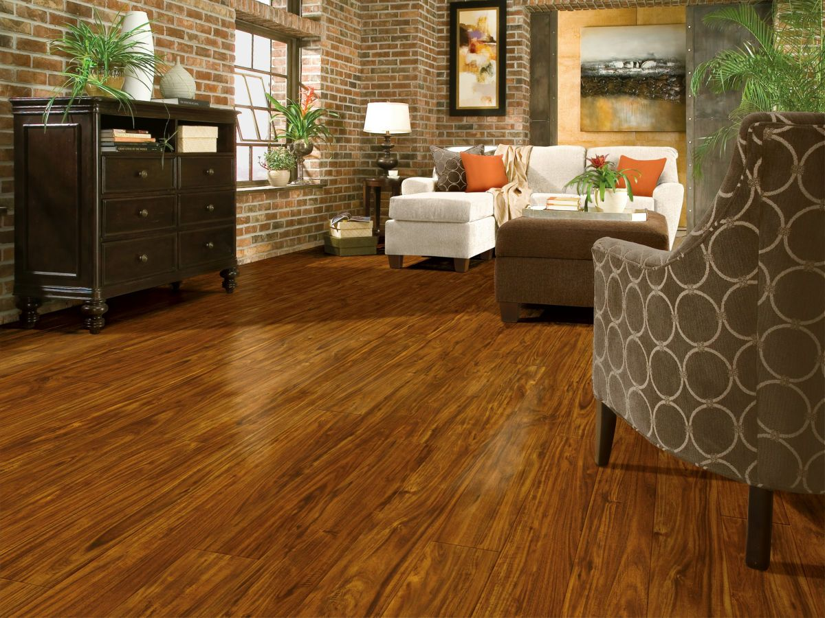 Armstrong Luxe Plank With Rigid Core Acacia Cinnabar A6408U61