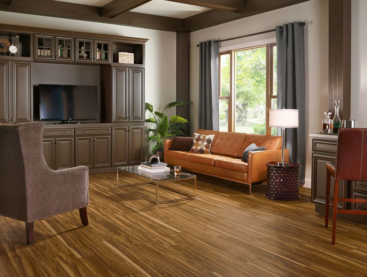 Armstrong Luxe Plank With Rigid Core Tioga Timber Java A6410761