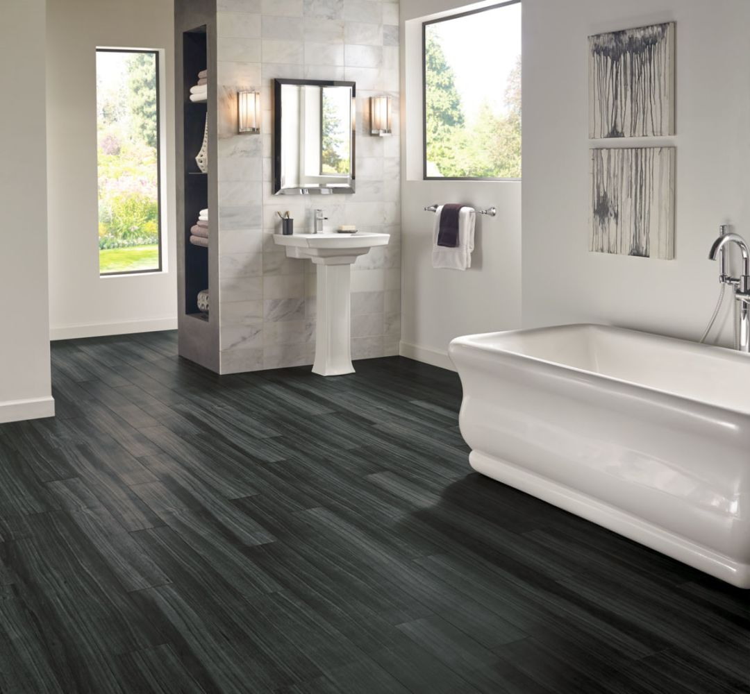 Armstrong Luxe Plank With Fastak Install Empire Walnut Raven A6720761