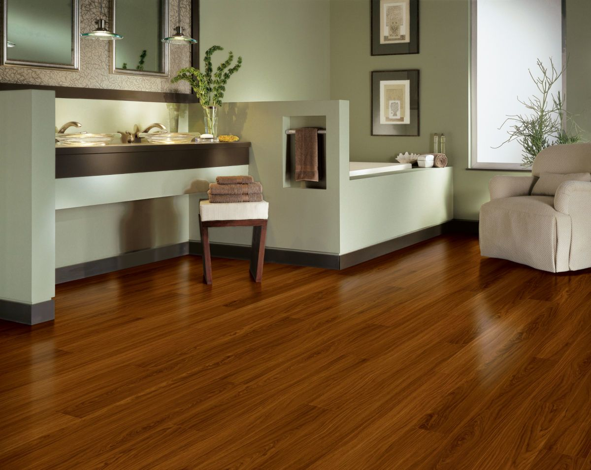 Armstrong Luxe Plank Better Jatoba Mahogany A6839731