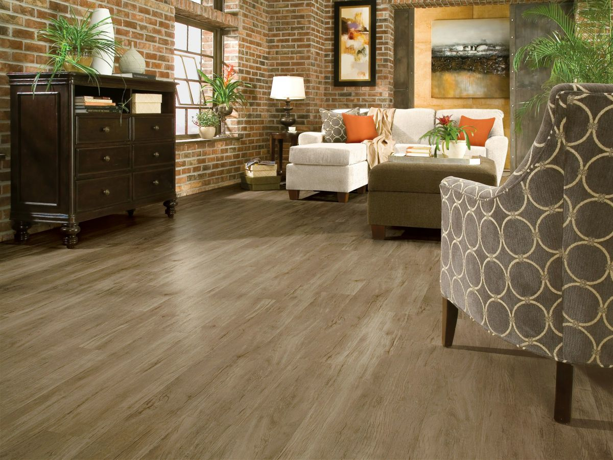 Armstrong Luxe Plank Best Barnyard Gray A6861751