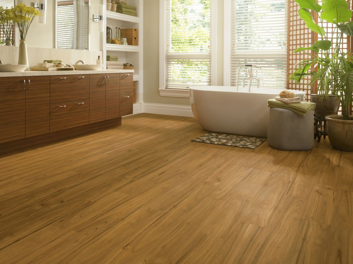 Armstrong Luxe Plank With Fastak Install Blonde A6725761