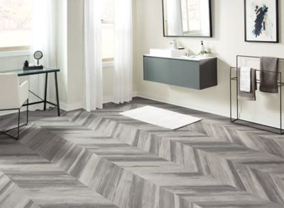 Armstrong Cushionstep Better Chevron Forest Silver Fox B3385401