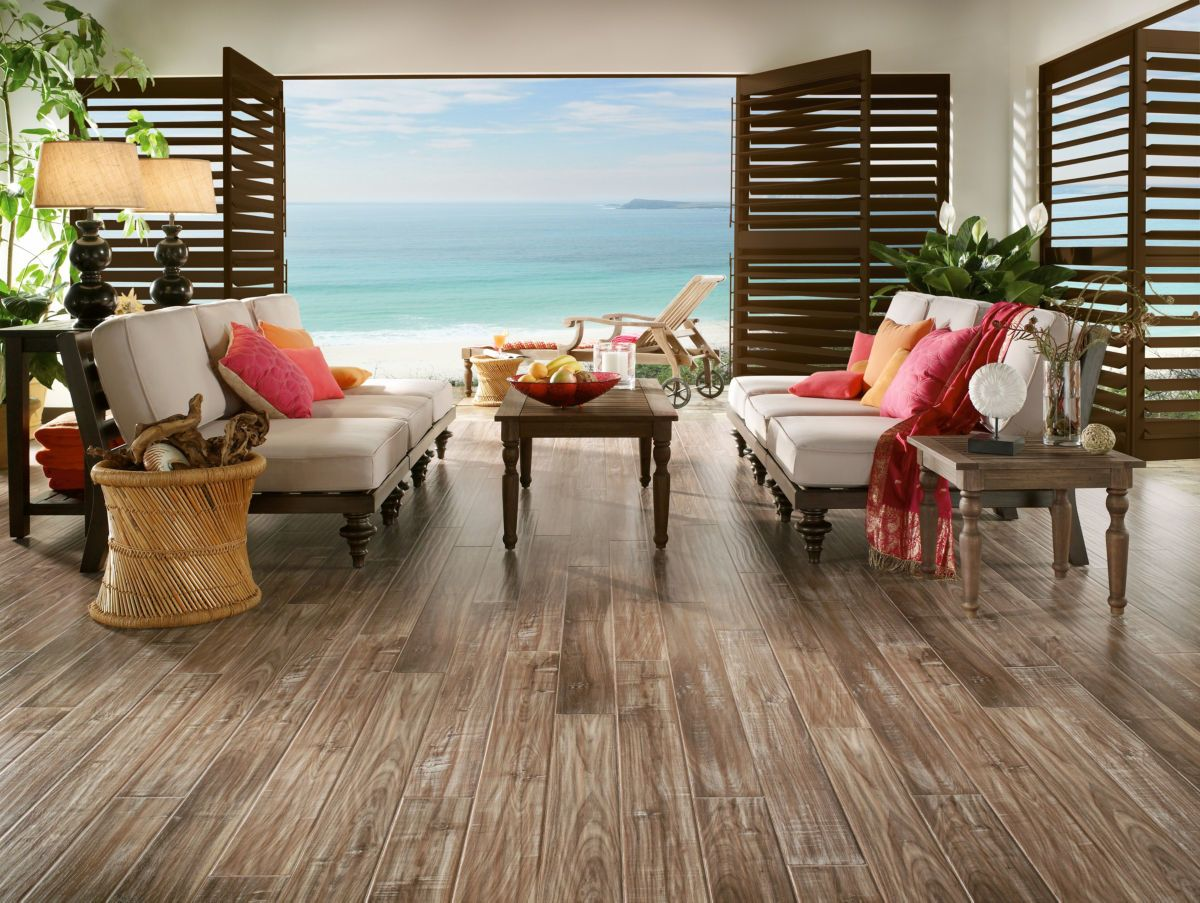 Armstrong Commercial Handsculpted Laminate Collection White Wash Boardwalk L306312E