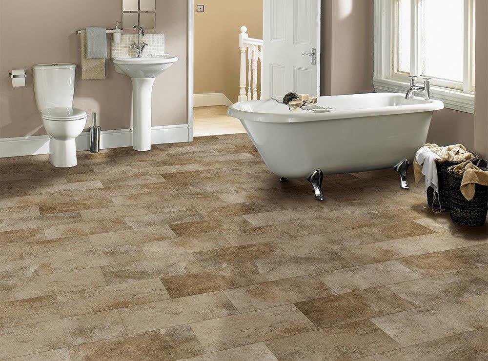 COREtec Plus Tile Bronzed Stone VV032-00109