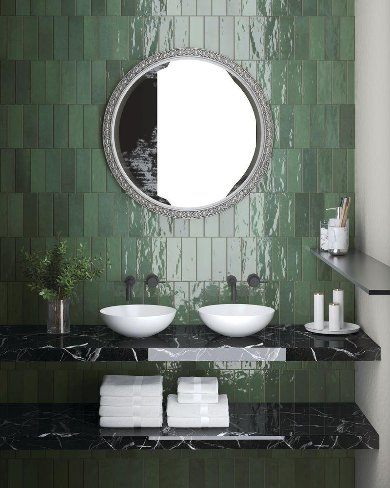 Emser Passion Porcelain Glossy Verde W32PASSVE0308