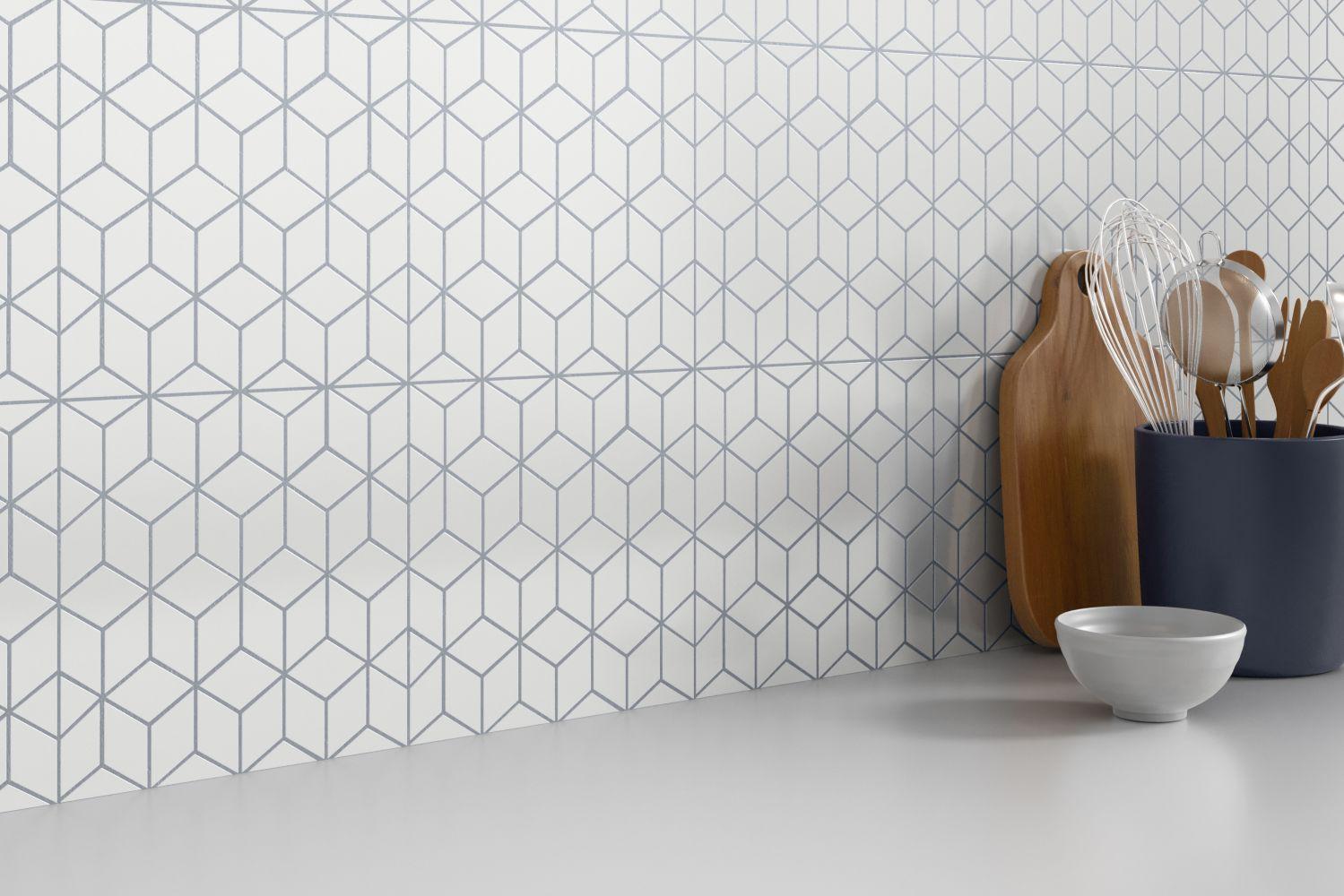 Emser Geometry Porcelain Matte/Satin Gray F39GEOMCUGR1010