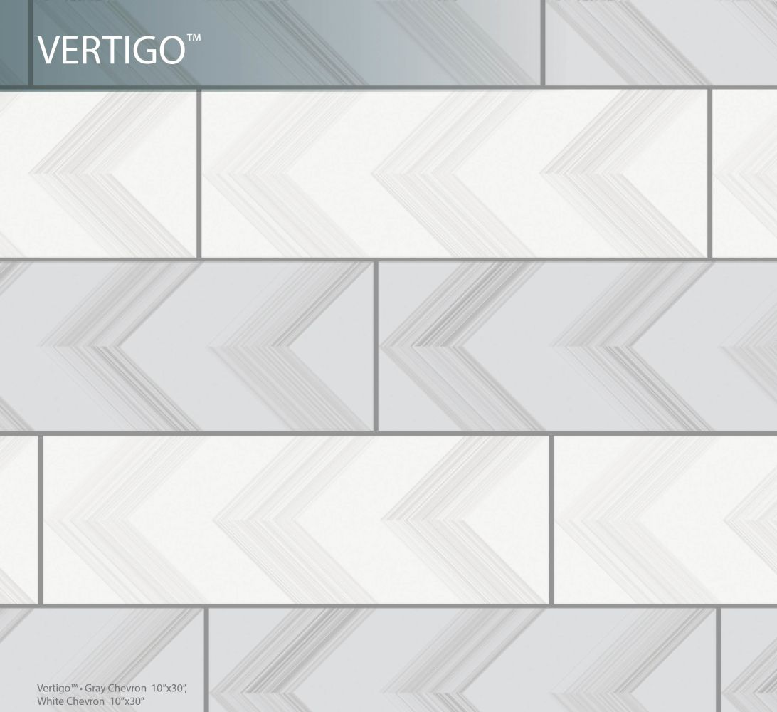 Emser Vertigo Ceramic Matte/Satin Gray F02VERTGR1030