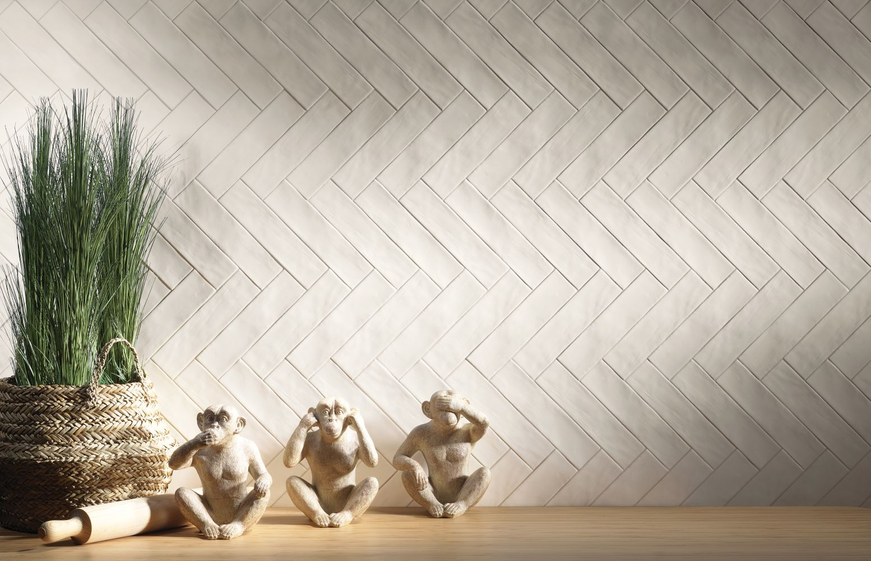 Emser Hues Ceramic Satin White W21HUESWH0310