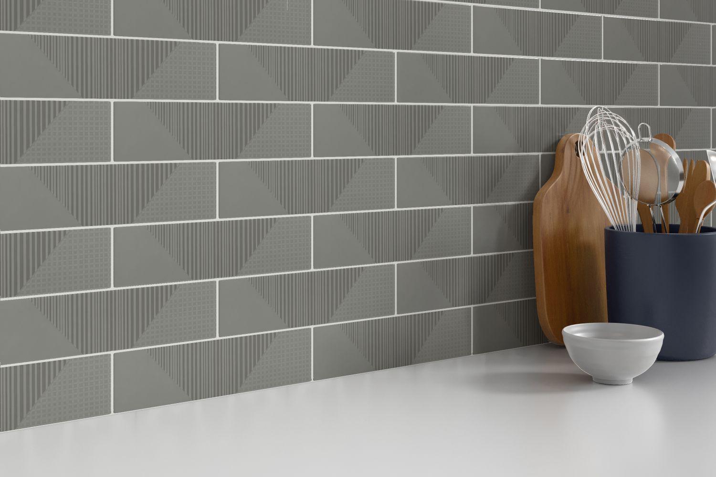 Emser Express Ceramic Glossy Gray W37EXPRAGGR0312